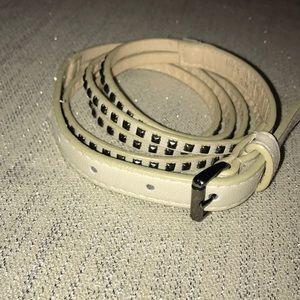 Forever 21 studded belt